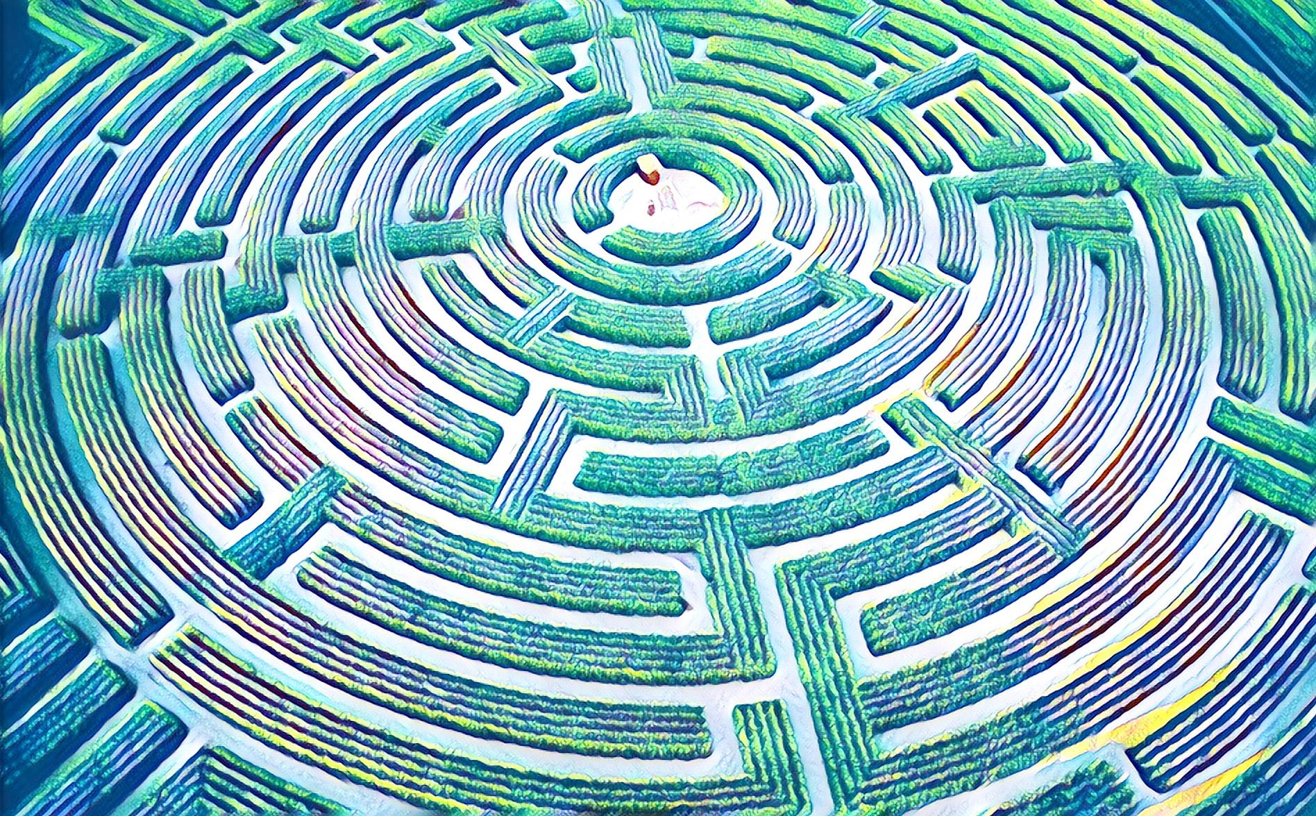 Training = Maze