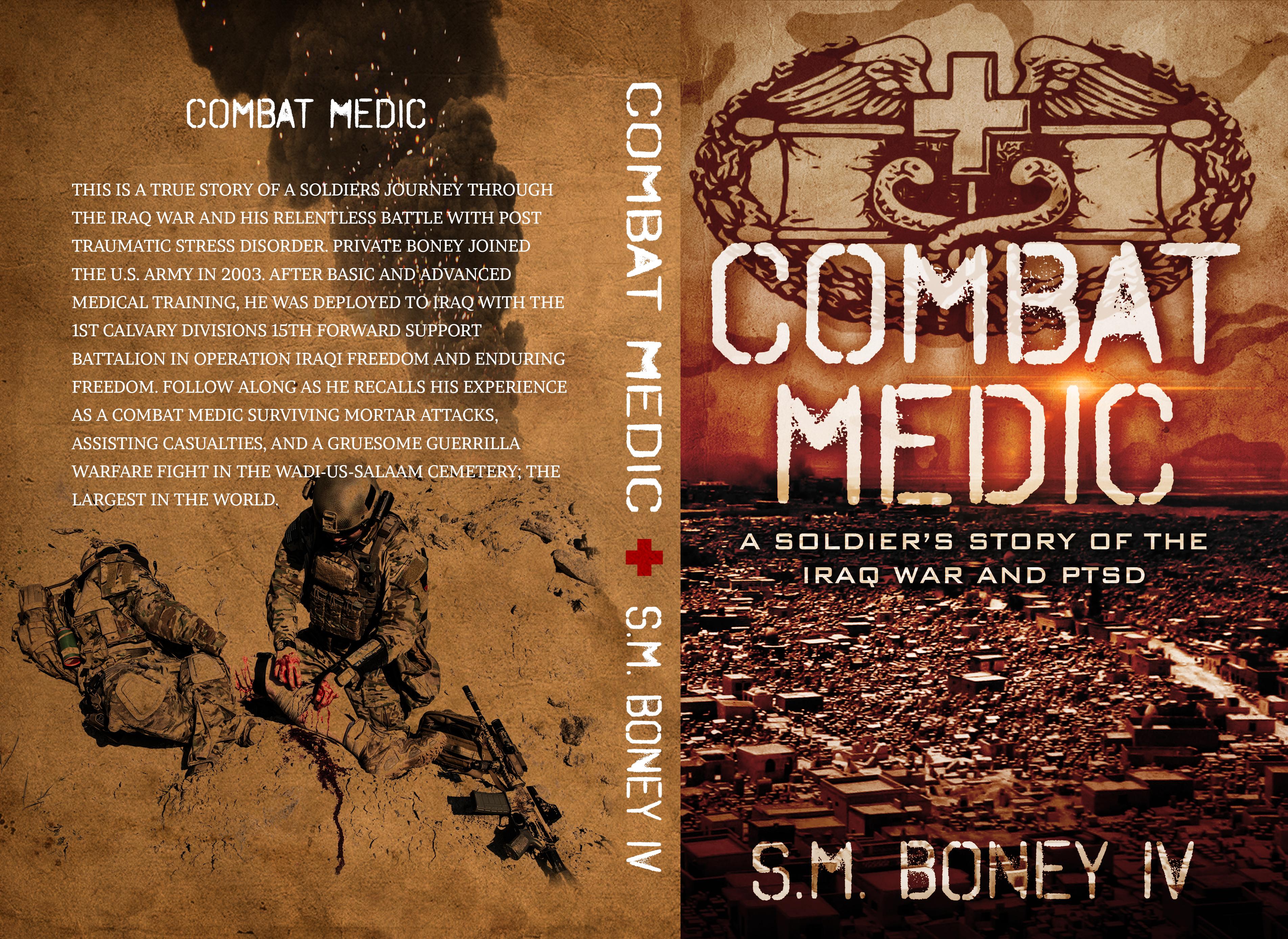 Combat Medic Book Promo